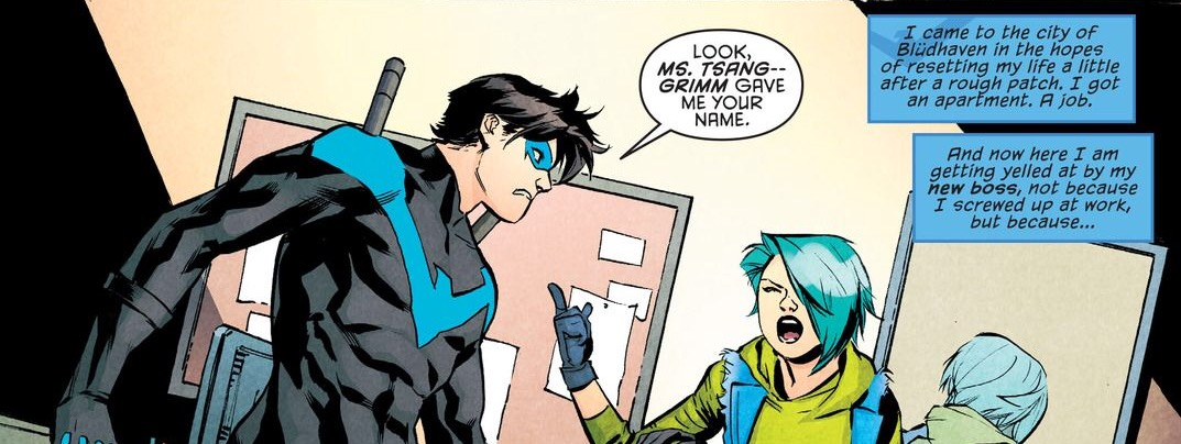 'Nightwing' #11 art by Marcus To & Chris Sotomayor