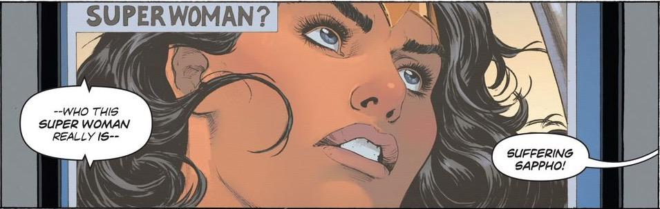 'Wonder Woman' #12 art by Nicola Scott
