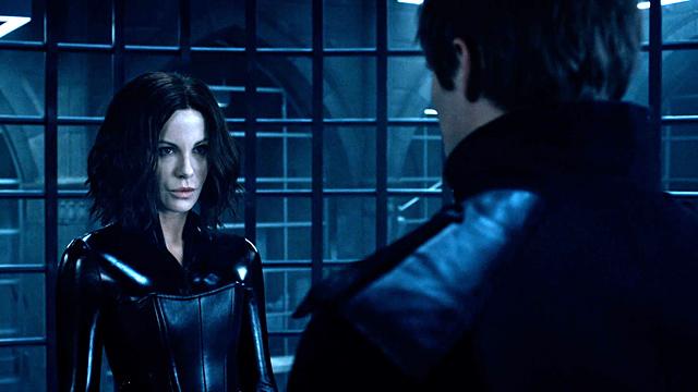 Kate Beckinsale & Bradley James in 'Underworld: Blood Wars'