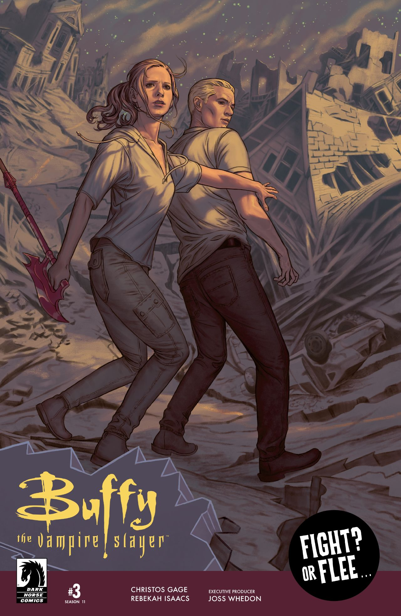 'Buffy the Vampire Slayer' (Season 11) #3 cover art by Steve Morris