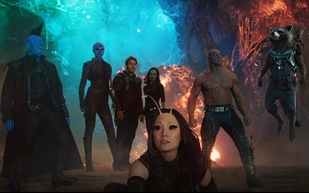 'Guardians of the Galaxy Vol. 2' cast - Marvel