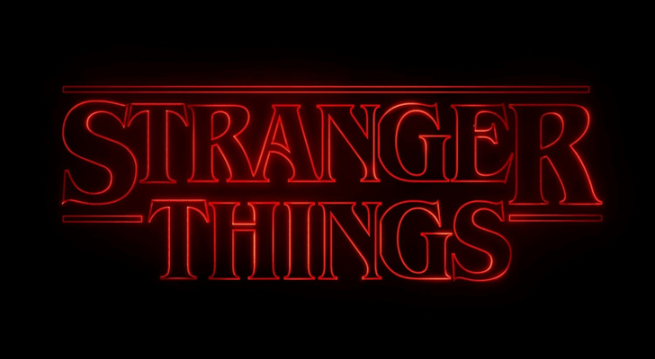'Stranger Things' logo - Netflix