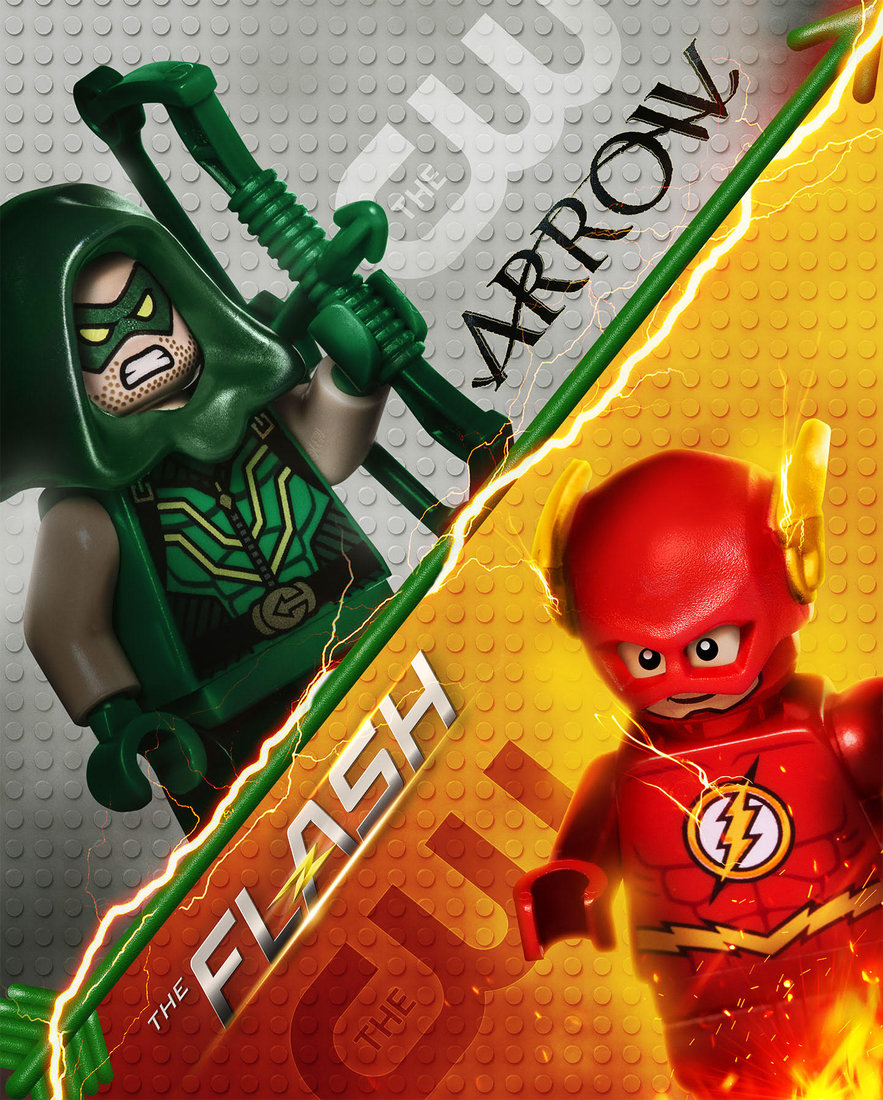 'LEGO Arrow' & 'LEGO Flash'