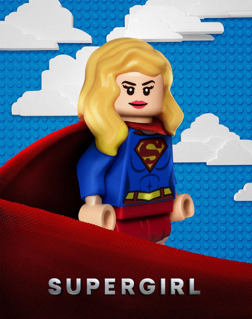 'LEGO Supergirl'