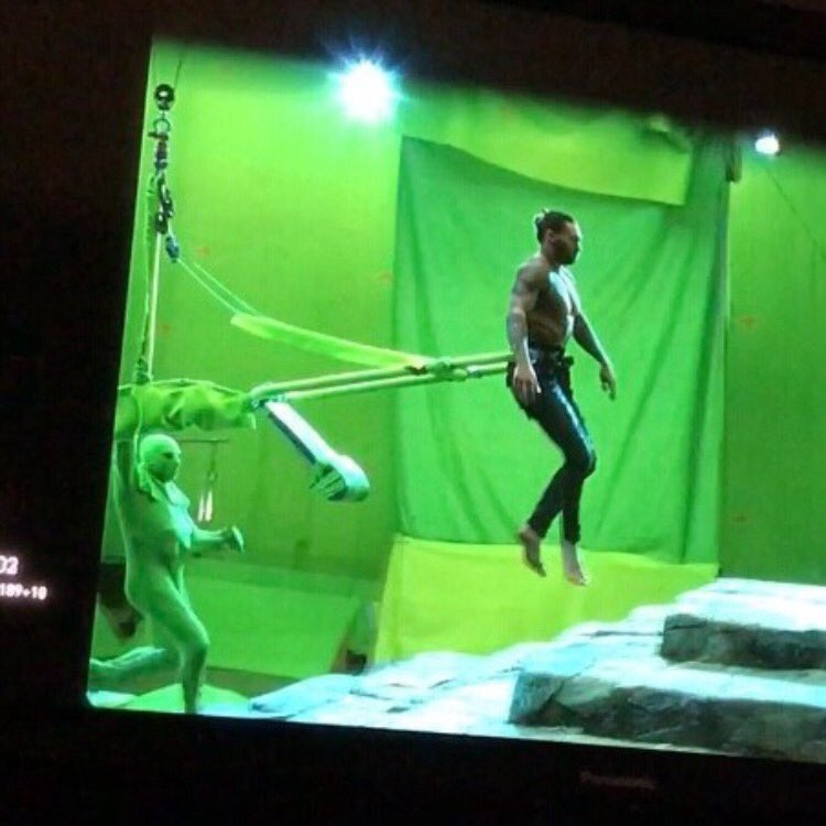 Aquaman-green screen