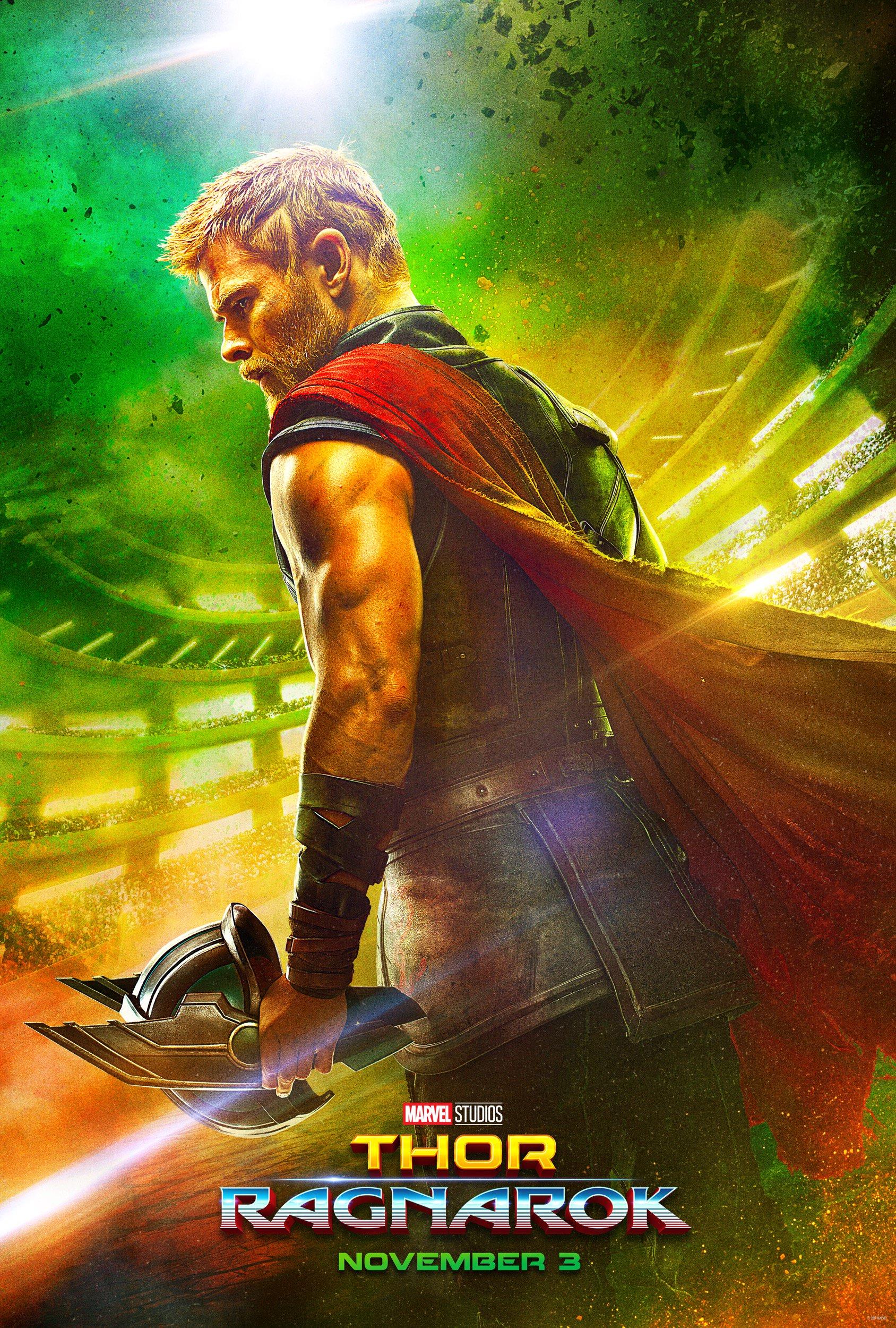 """Thor: Ragnarok"" poster"