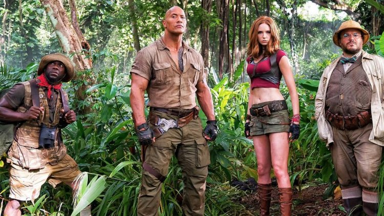 Jumanji: Welcome to the Jungle cast