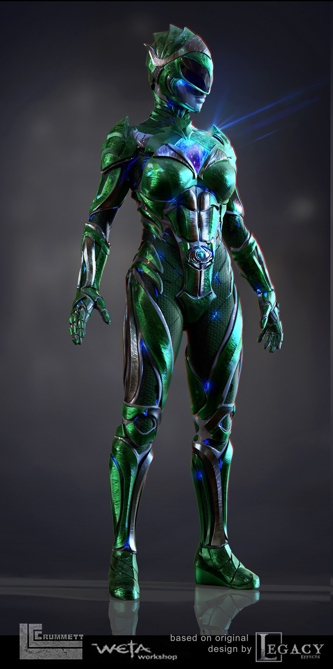 'Power Rangers' (2017) concept art