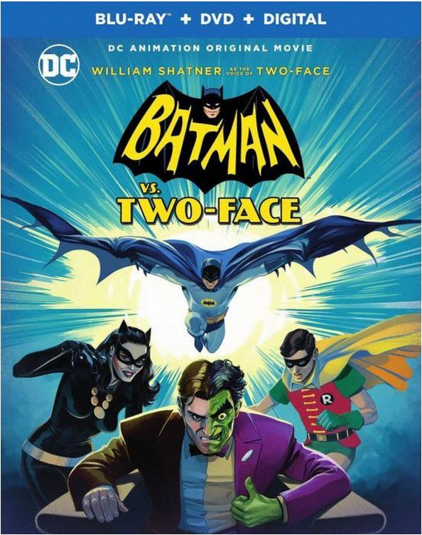 Batman vs. Two-Face cover art