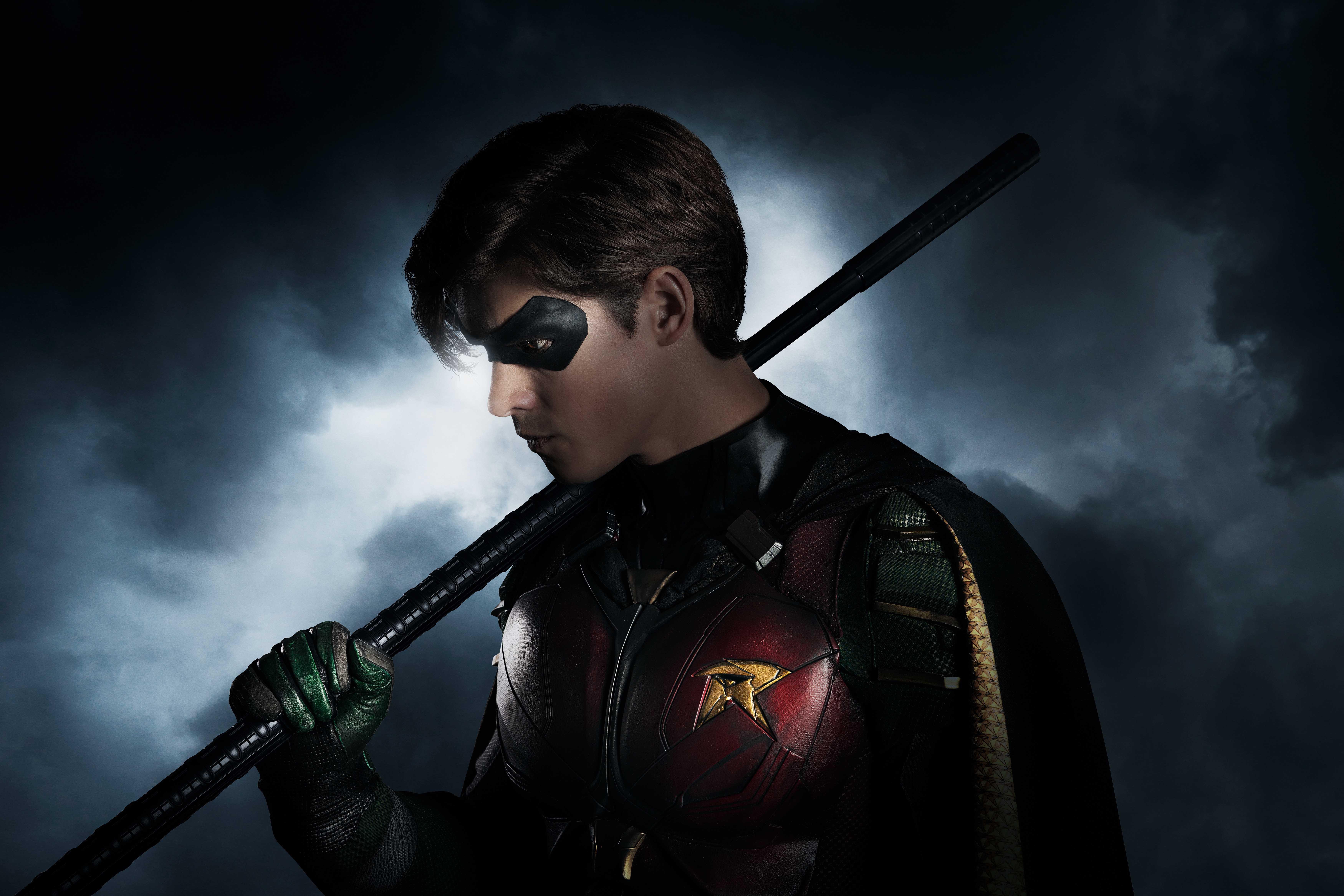 """Brenton Thwaites as Robin in """"Titans"""""""