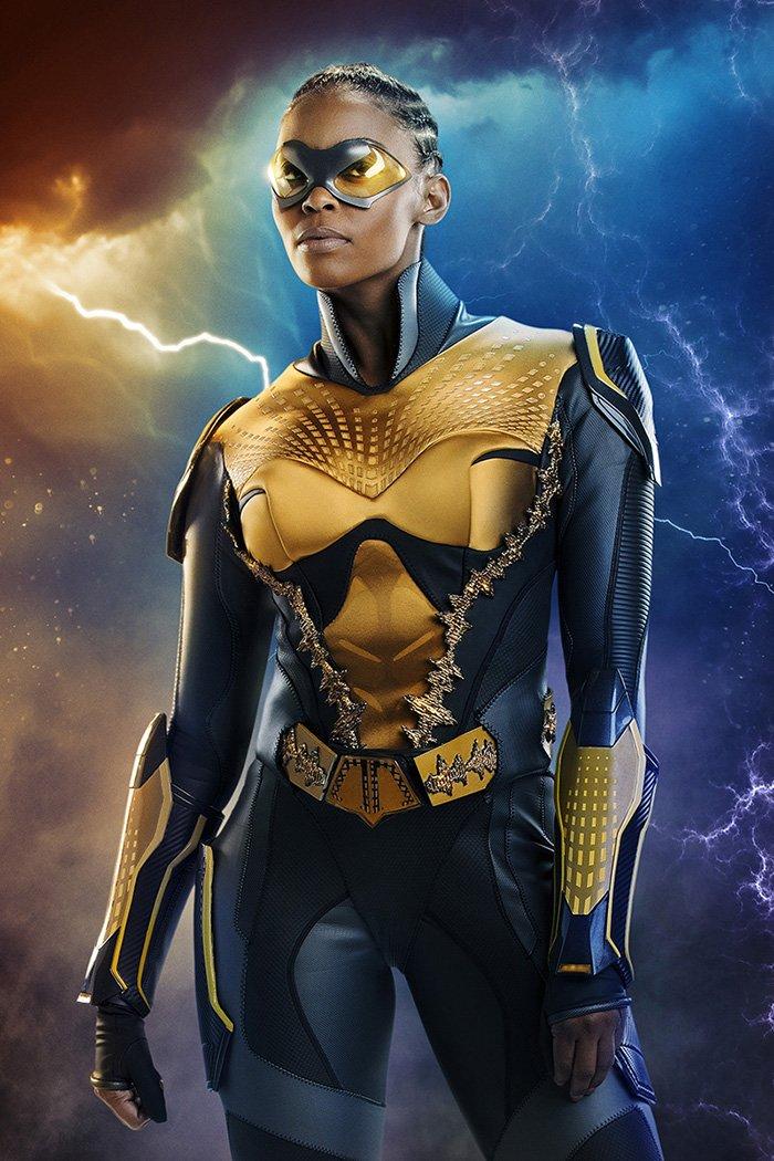 Nafessa Williams as Thunder in 'Black Lightning'
