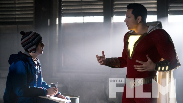 Shazam Hits The Cover Of Total Film Magazine Get Your Comic On