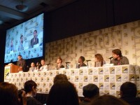 The 'Constantine' panel at SDCC 2014