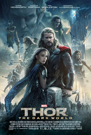 'Thor: The Dark World' Poster Artwork