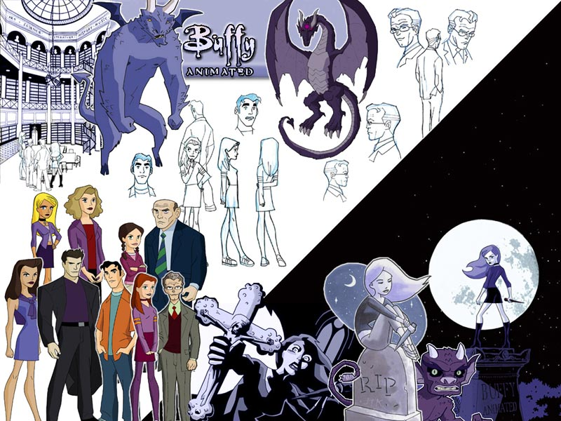 Art from 'Buffy: the Animated Series'