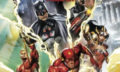 'Justice League: The Flashpoint Paradox' cover art