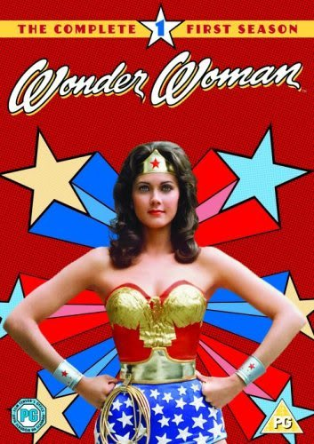 Wonder Woman Season 1 DVD Cover