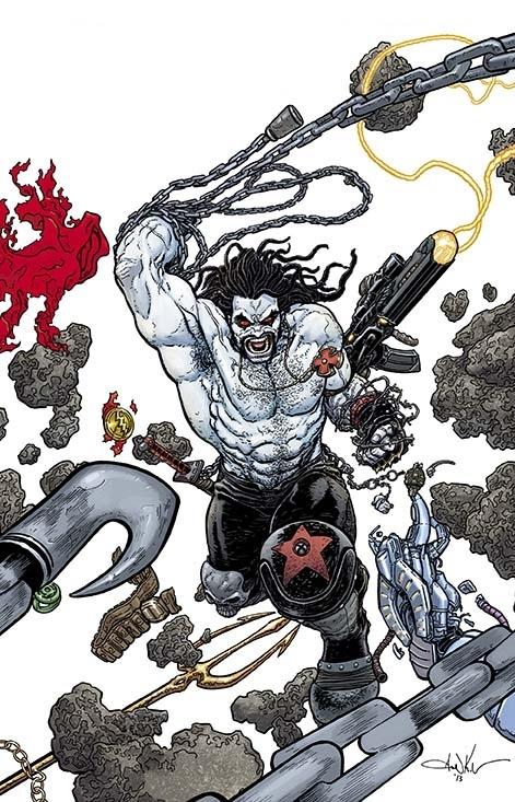 'Justice League' #23.2 Lobo