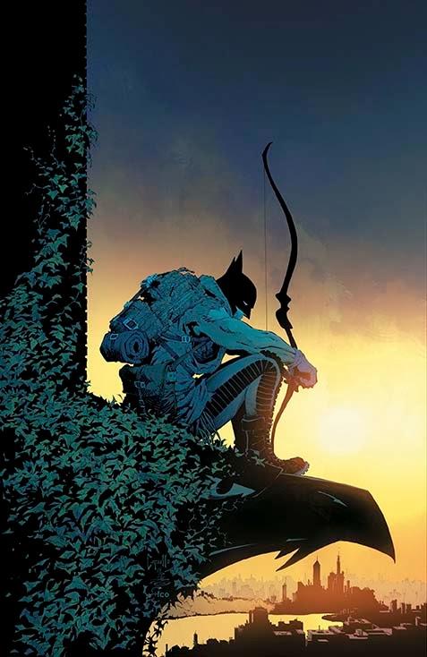 'Batman' #31 cover art by Greg Capullo