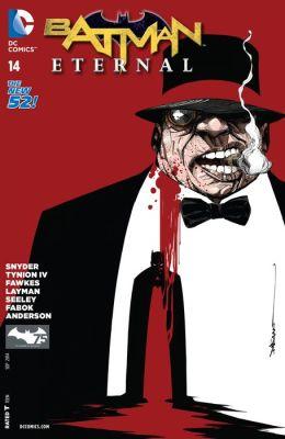 'Batman Eternal' #14 cover by Dustin Nguyen