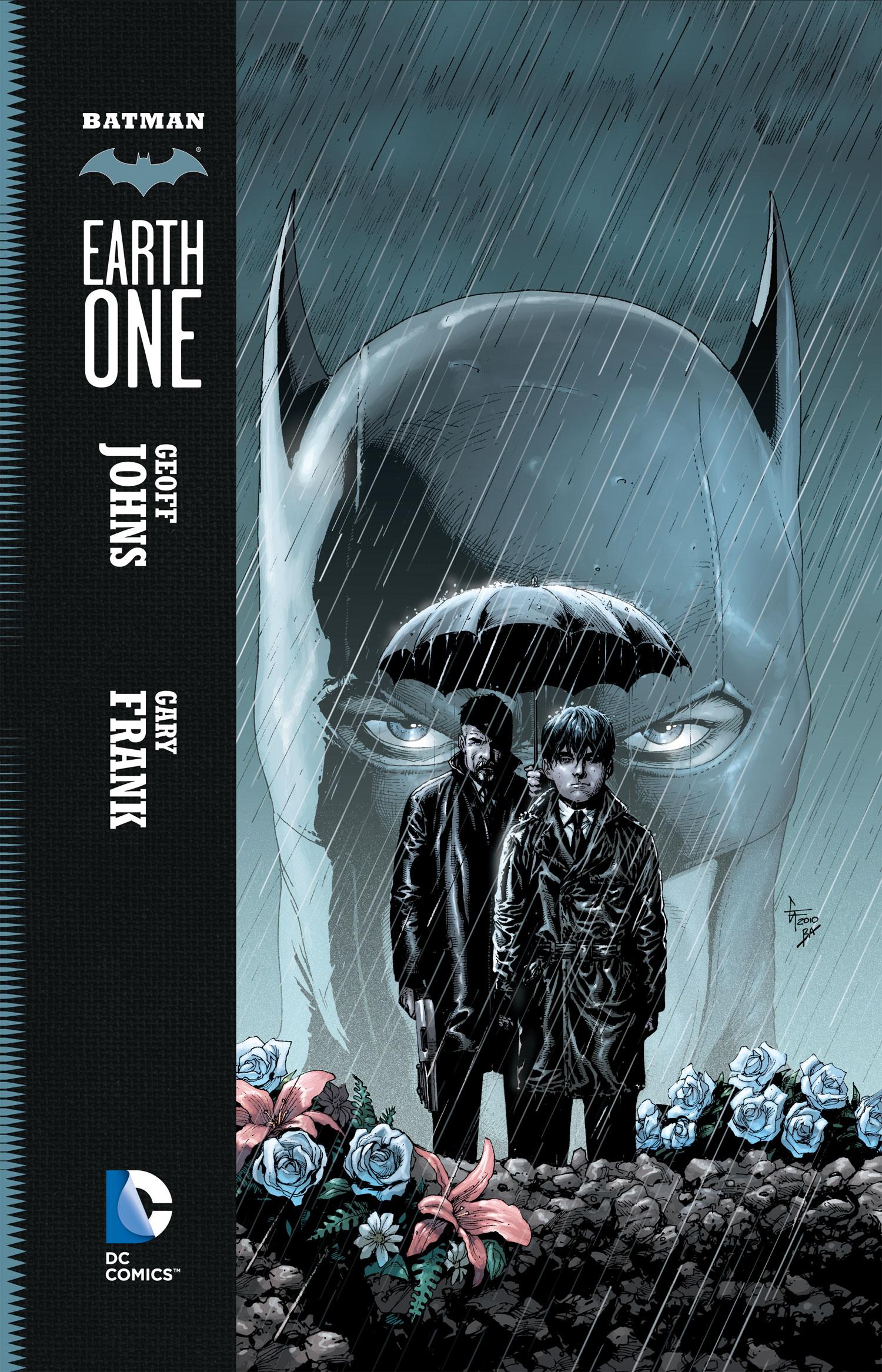 'Batman: Earth One' Cover by Gary Frank & Brad Anderson