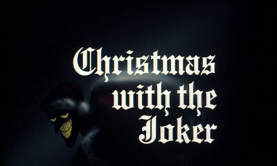 Title card for Batman the Animated Series S01E02 'Christmas with the Joker'
