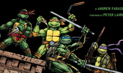'Teenage Mutant Ninja Turtles: The Ultimate Visual History' cover art