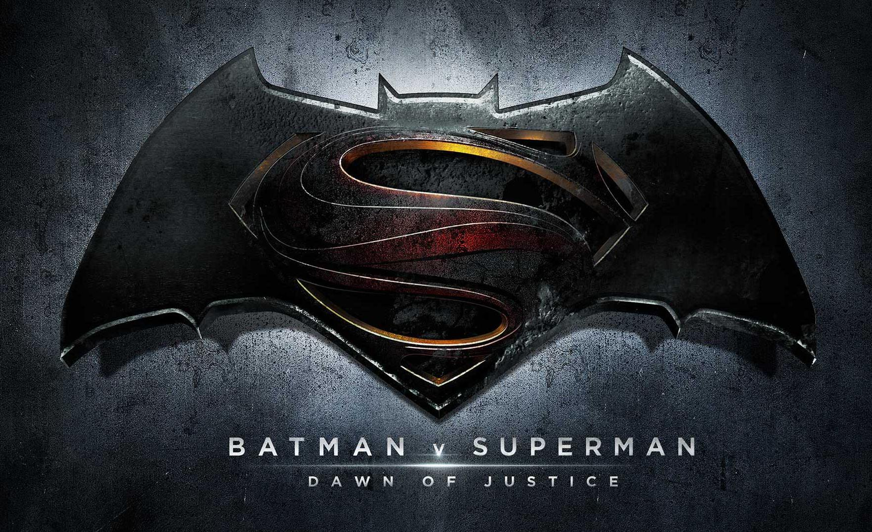 'Batman v Superman: Dawn of Justice' Promo Logo