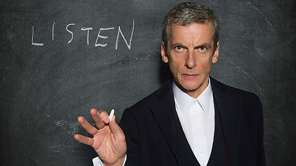 Peter Capaldi in a promo shot for 'Listen'