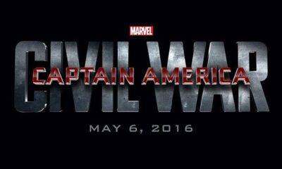 'Captain America: Civil War' logo art from Marvel Studios