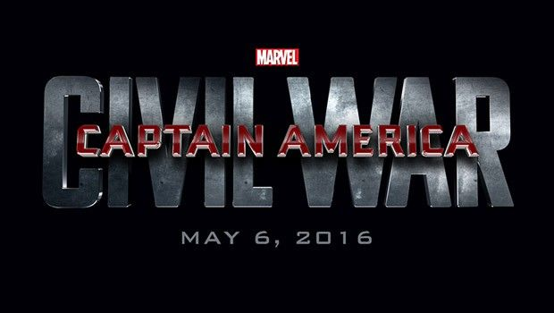 'Captain America: Civil War' logo art from Marvel Studios