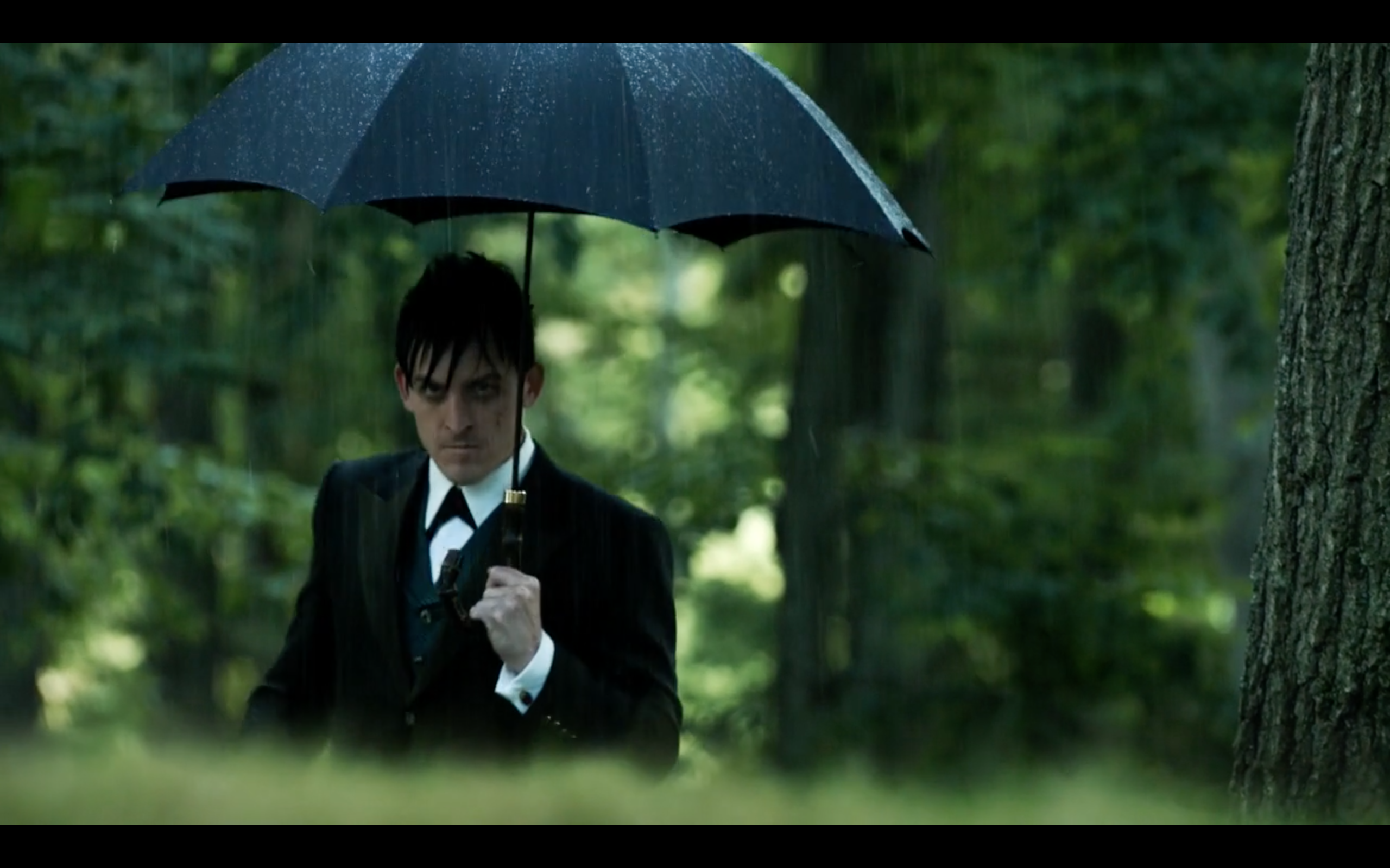 Robin Lord Taylor as Oswald Cobblepot on Fox's 'Gotham'