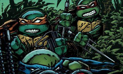 Teenage Mutant Ninja Turtles #43 cover by Kevin Eastman