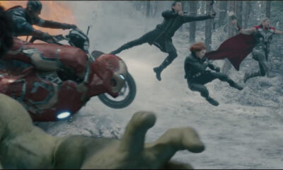 The 'Avengers: Age of Ultron' splash page
