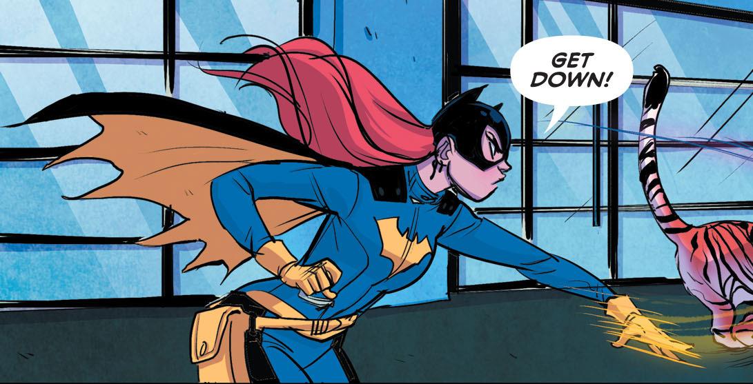 'Batgirl' #43 page art