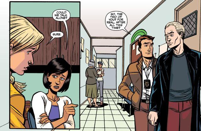 Artwork from 'Buffy the Vampire Slayer' Season 10 #20 by Megan Levens & Dan Jackson