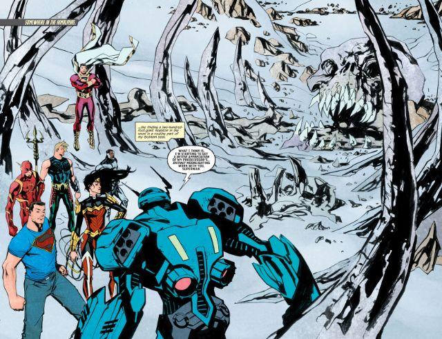 Artwork from 'Detective Comics' #46 by Marcio Takara