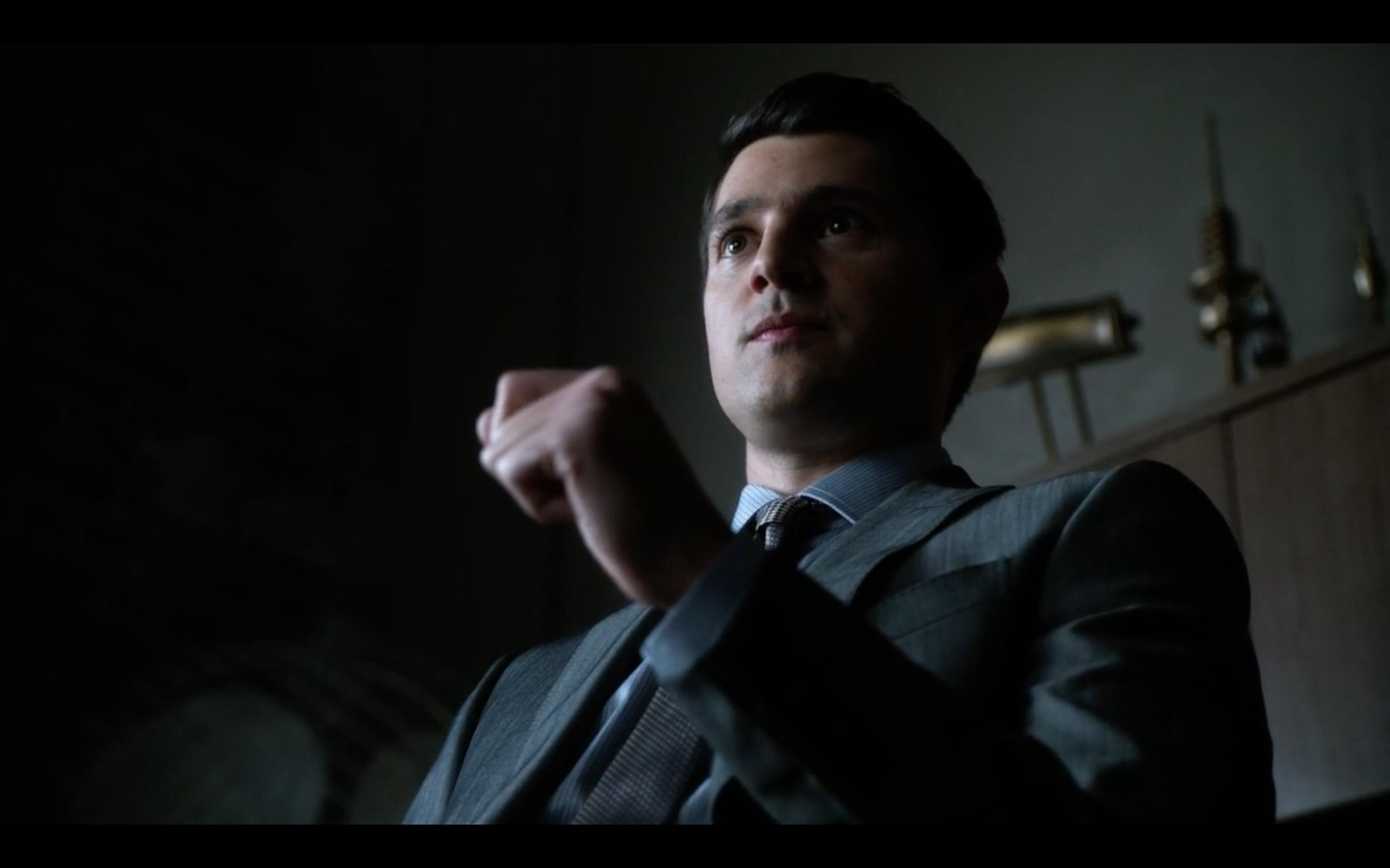 Nicholas D'Agosto as Harvey Dent in 'Gotham'