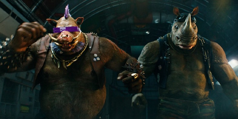 Bebop and Rocksteady in 'Teenage Mutant Ninja Turtles: Out of the Shadows'