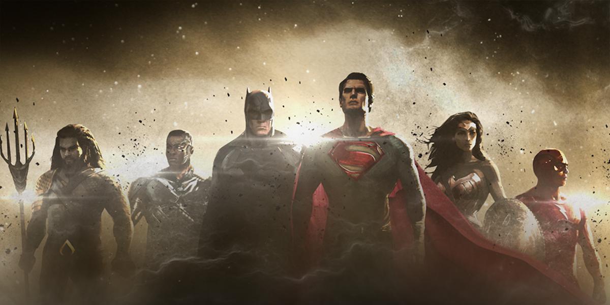 'Justice League Part 1' concept art