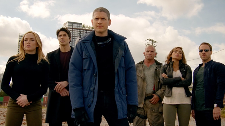 Heroes assemble on 'DC's Legends of Tomorrow'