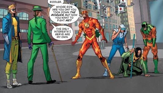 Art from 'The Flash' #51 'Under the Gun'