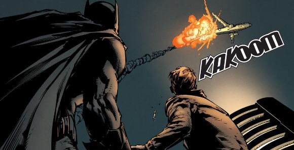 'Batman: Rebirth' #1 art by David Finch & Matt Banning