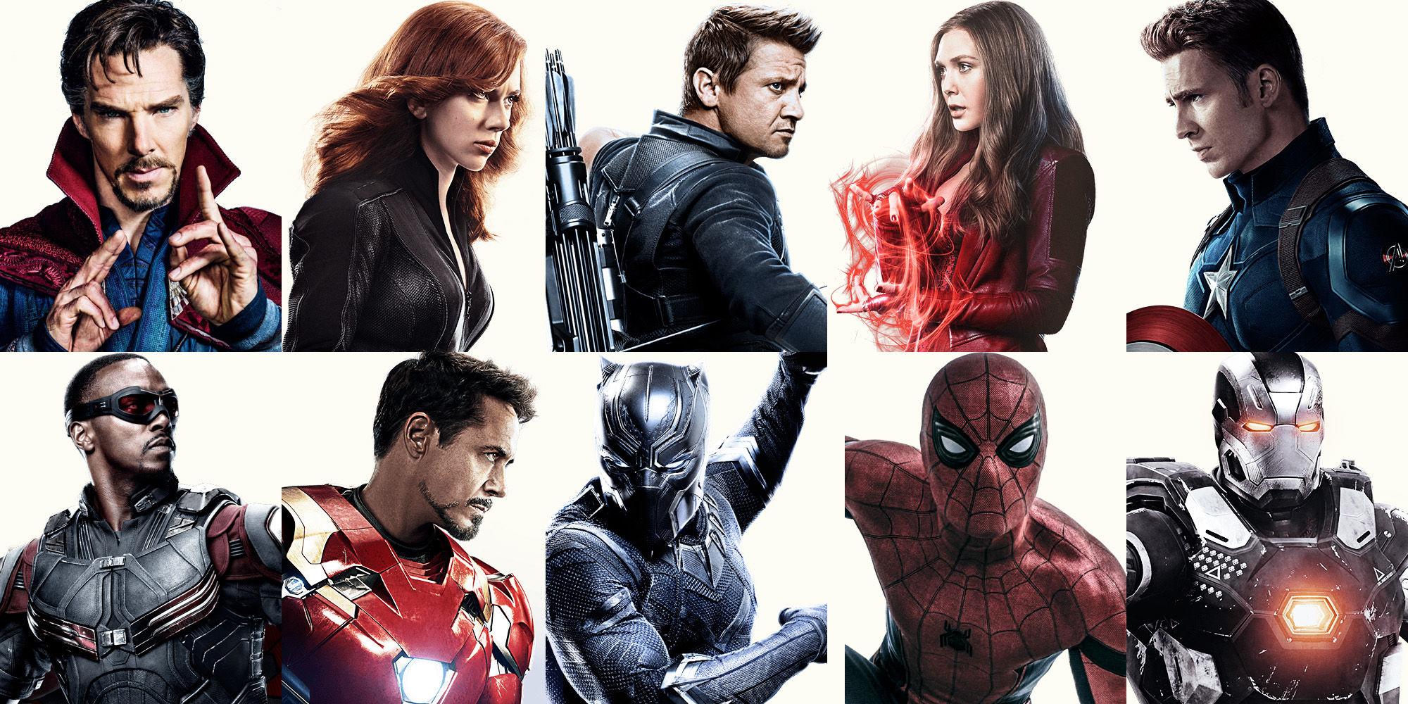 Captain America: Civil War Avengers