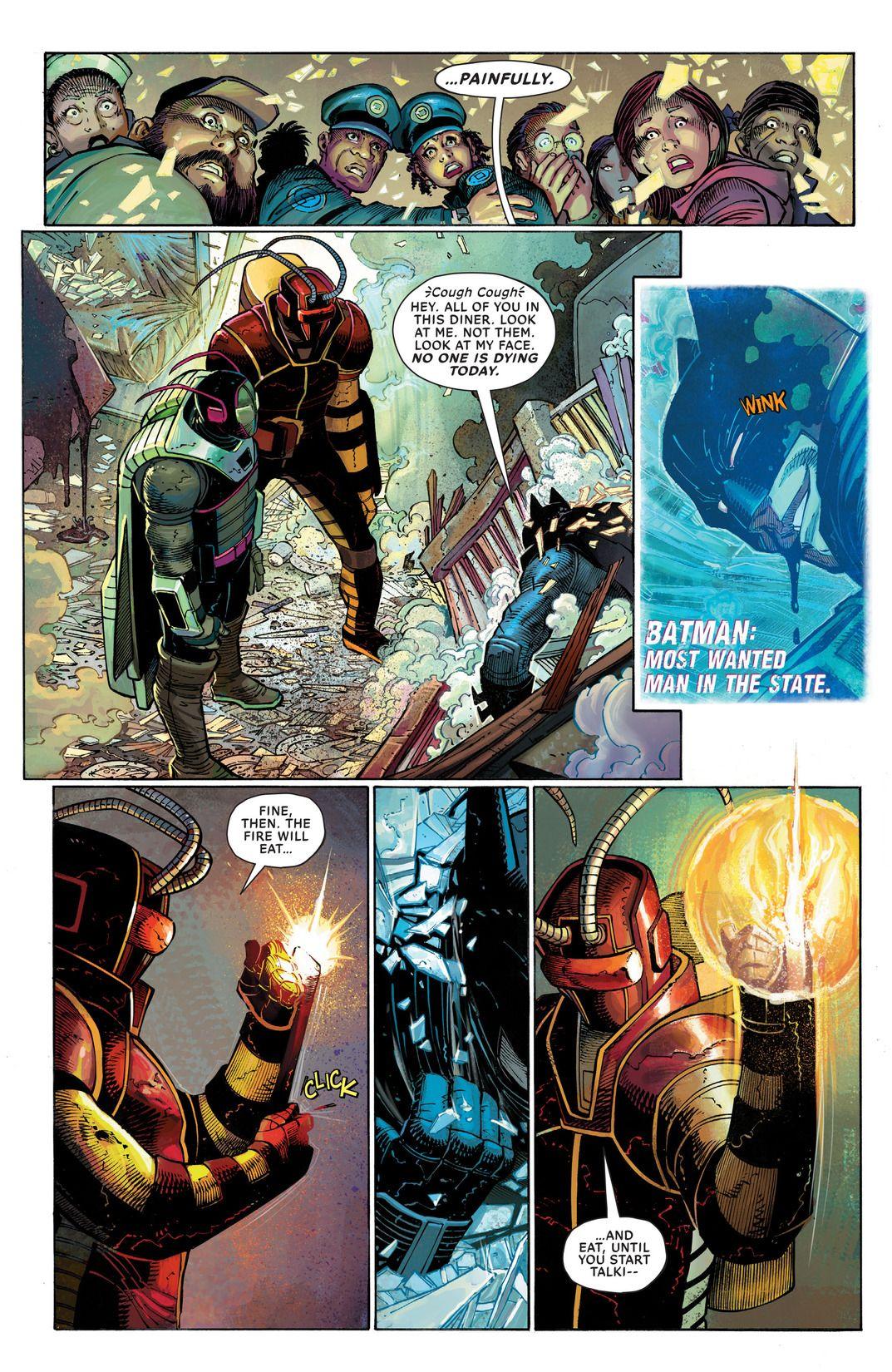 'All-Star Batman' #1 art by Danny Miki, Joride Bellaire, John Romita Jr. & Dean White
