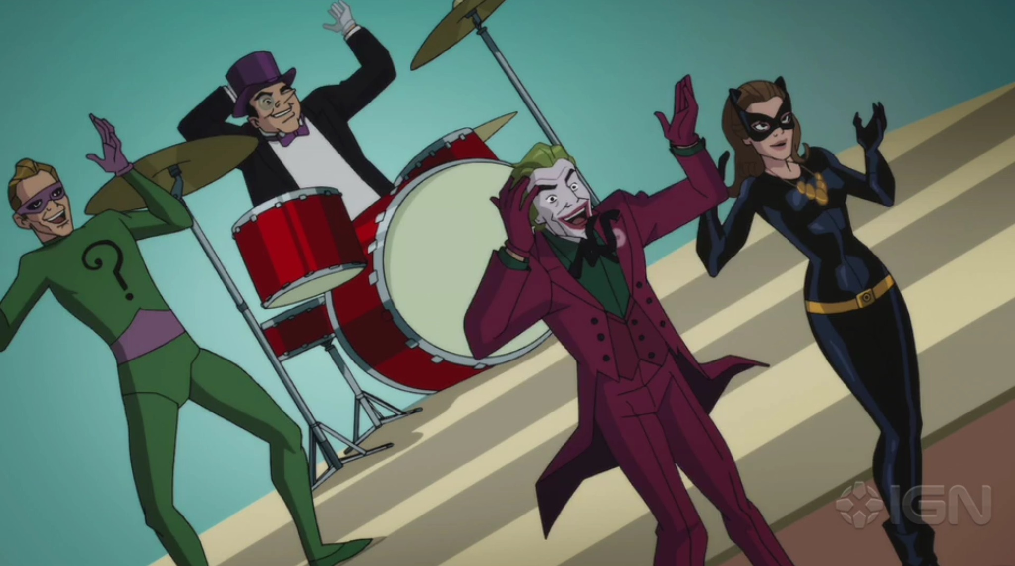 The rogues gallery of 'Batman: Return of the Caped Crusaders'