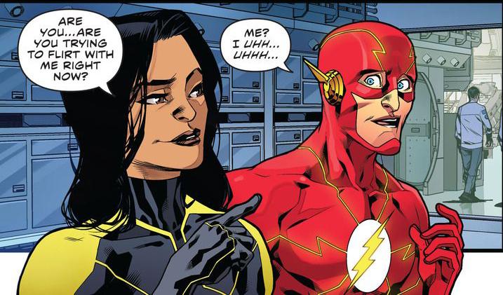 'The Flash: Rebirth' #4 artwork by Neil Googe & Ivan Placencia