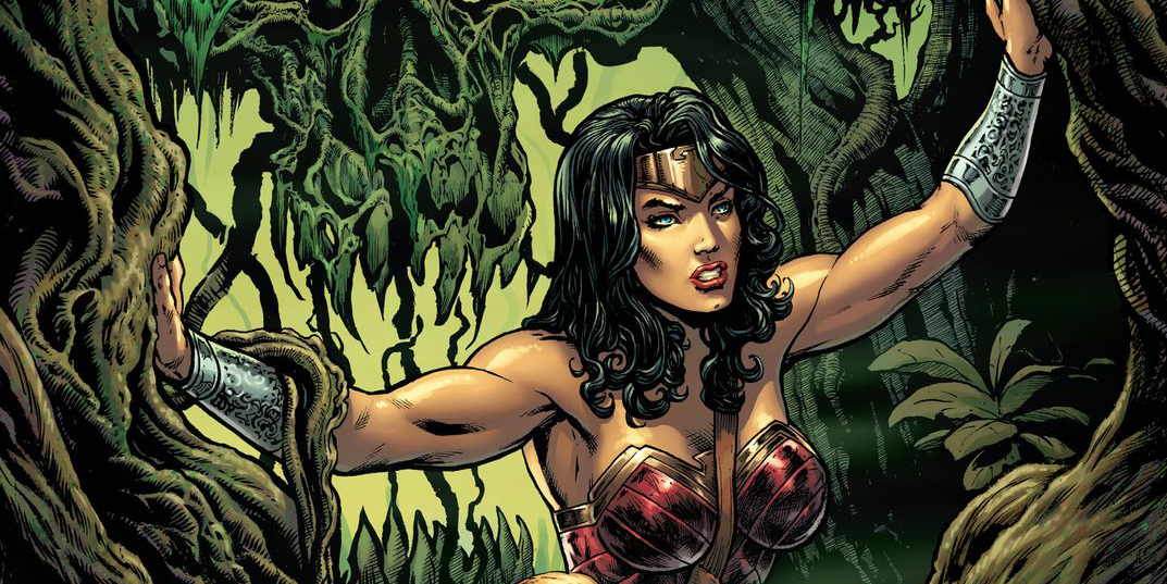 'Wonder Woman' #5 art by Liam Sharp