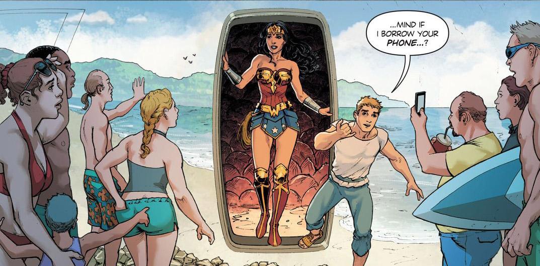 'Wonder Woman' #6 art by Nicola Scott