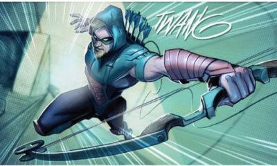'Green Arrow' #10 art by Juan Ferreyra